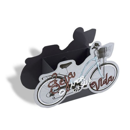 Porta Lápis Bicicleta Seja o Amor da Sua Vida