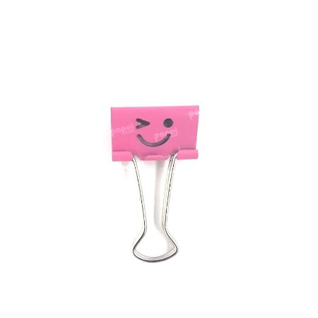 Binder Carinha Piscando Rosa 25mm