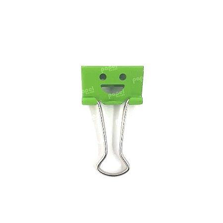 Binder Carinha Sorridente Verde 25mm