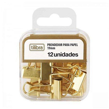 Binder Dourado 19mm