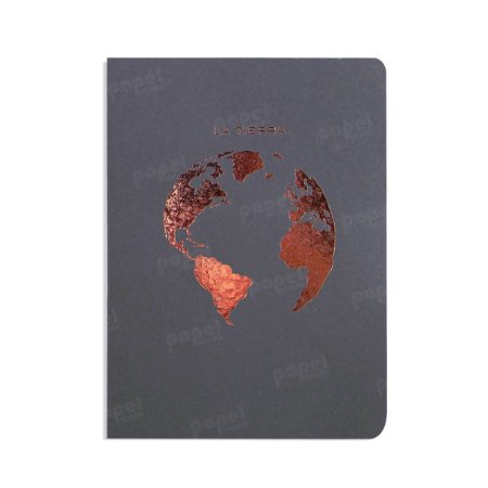 Caderno Grafite La Tierra