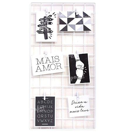 Memory Board Branco 30x60cm
