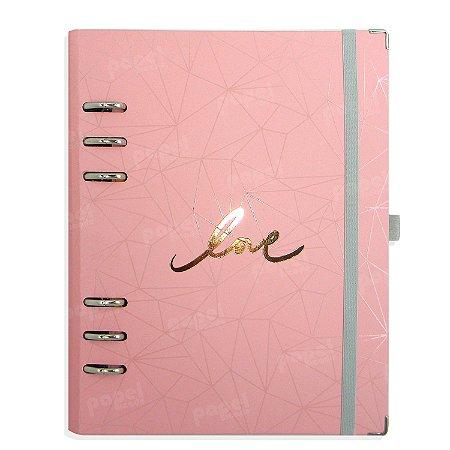 Planner Organizador A5 - Love Rosa