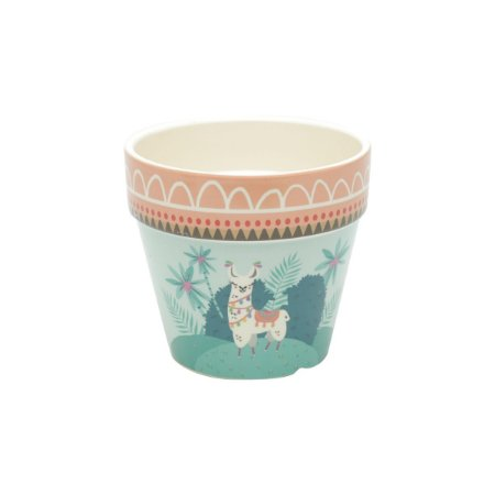 Vaso Decorativo Lhama Mexicana Grande