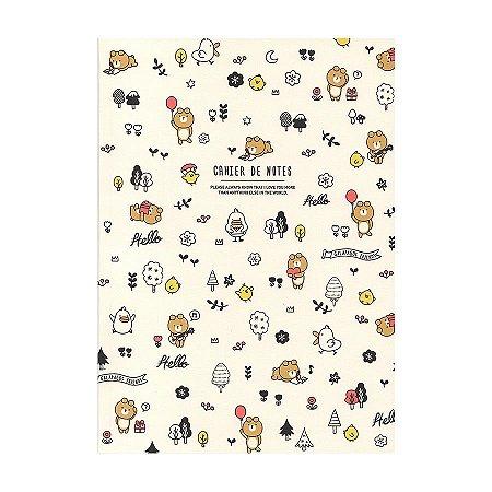 Caderninho Brochura Amigos