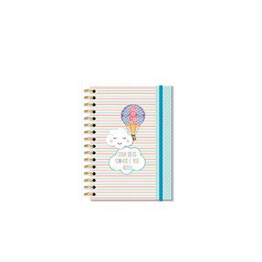Caderneta Nuvem e Balão 96 folhas