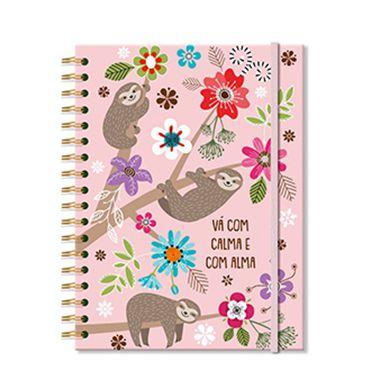 Caderno Preguiça Grande 96 folhas
