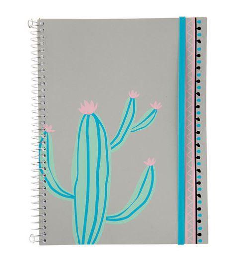 Caderno Flexível Cacto 96 folhas