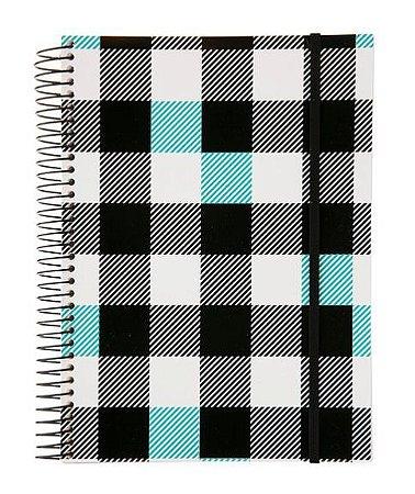 Caderno Universitário 96 Folhas Xadrez