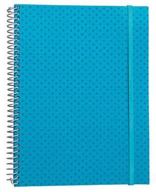 Caderno Universitário 200 Folhas Poá Verde