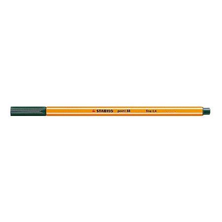 Caneta Stabilo Point 88/53 - Verde Escuro