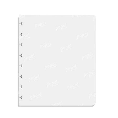 Refil Caderno de Discos Em Branco A5