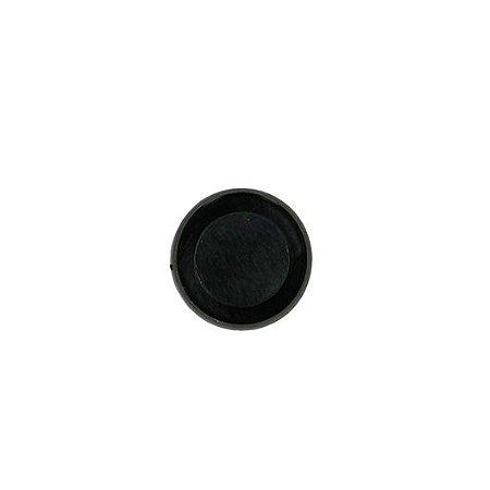 Anel de Caderno de Discos Preto 28mm