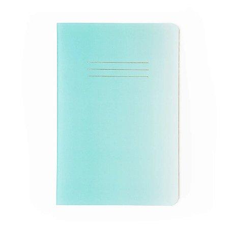 Caderninho brochura Azul Pontilhado