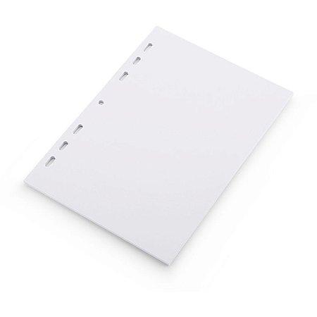 Refil Planner A5 148x210mm Em Branco