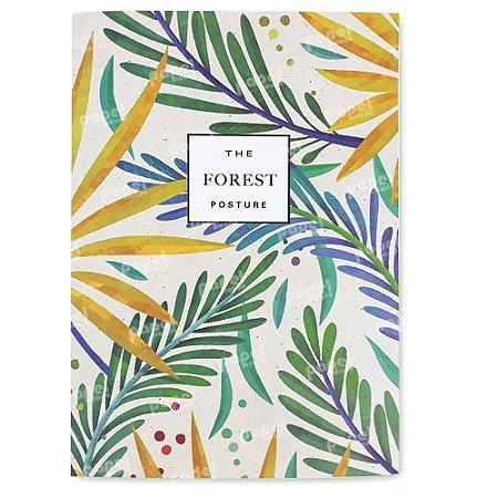 Caderno Brochura Pequeno - Nature Folhas