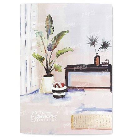 Caderninho Brochura Pintura Sala