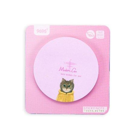 Post-It Gatinho Rosa