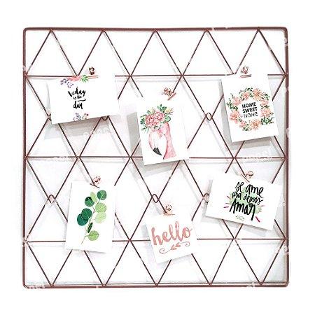 Memory Board Bronze Triângulo