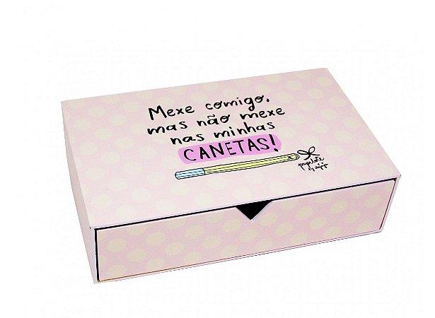 Caixa Gaveta Canetas