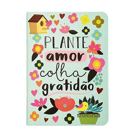 Caderninho Pontilhado Plante Amor