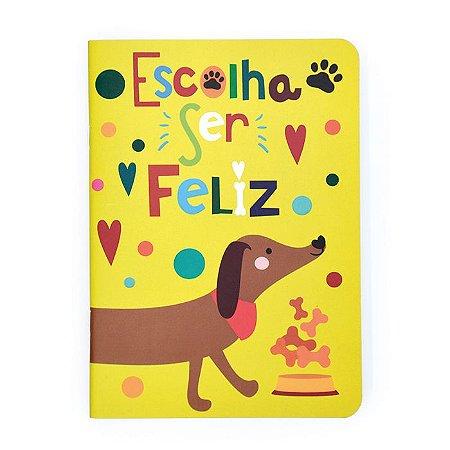 Caderninho Pontilhado Cachorro