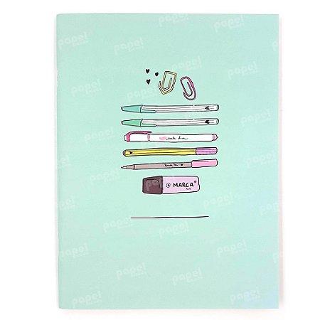 Caderno Max Canetas