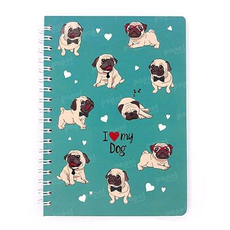 Caderno Espiral Dog