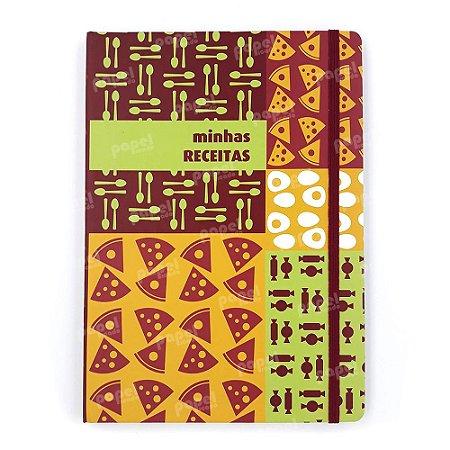 Caderno de Receitas c/ Elástico