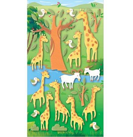 Adesivo Girafas