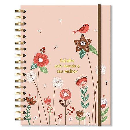 Caderno Jardim Médio 96 folhas