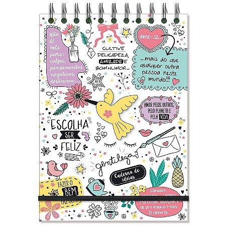Caderno de Ideias e anotações Beija-Flor