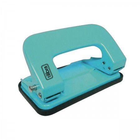 Perfurador de Papel Azul Piscina