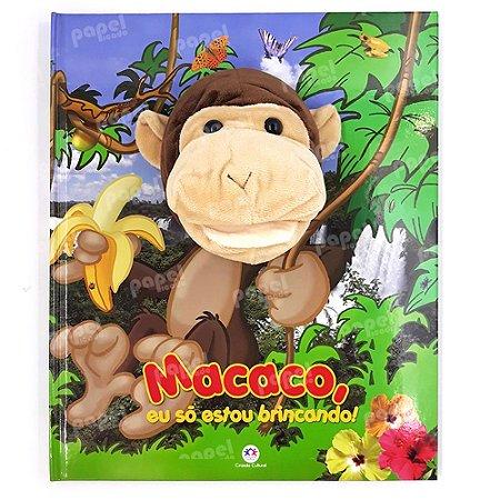 Livro Fantoche Macaco