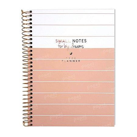 Planner Permanente Soho Linhas Rosé