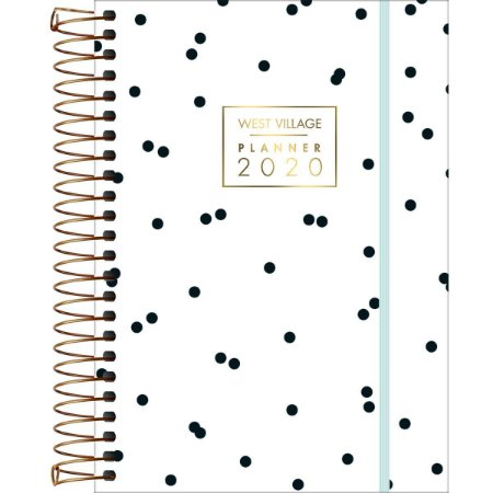 Planner West Village 2020 Poás Branco