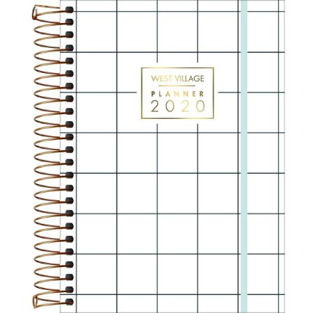 Planner West Village 2020 Quadriculado