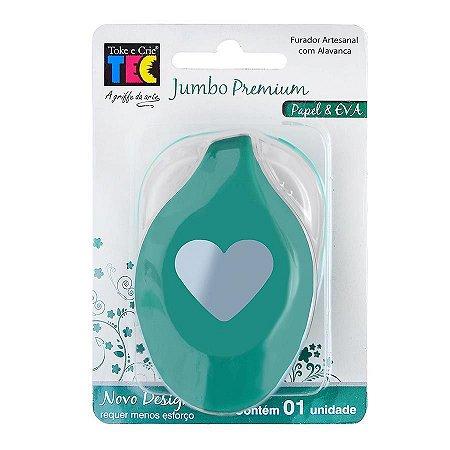 Furador Jumbo Premium Coração