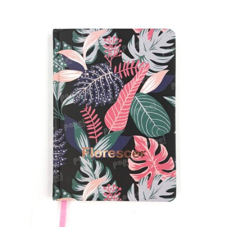 Caderneta Pautada Florescer Rosé