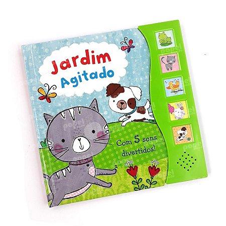 Livro Interativo Sonoro Jardim Agitado
