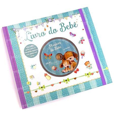 Livro Anotações do Bebê com CD de Músicas