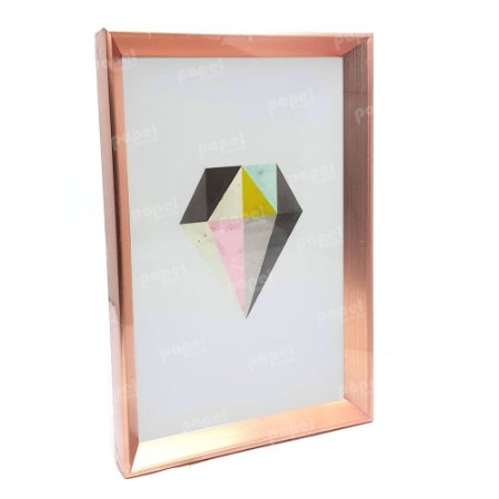 Quadro Decorativo Rosé Diamante