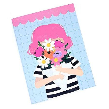 Planner Mensal Brochura Menina Happy