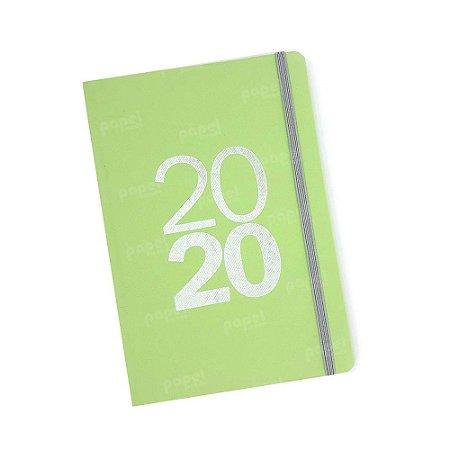 Agenda Semanal 2020 Verde Limão
