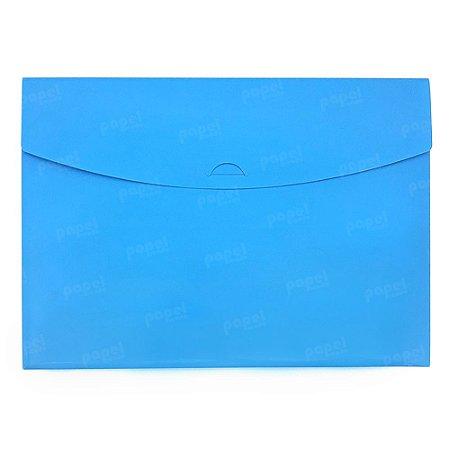 Pasta Envelope Azul Neon