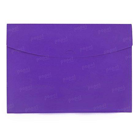 Pasta Envelope Roxa Neon