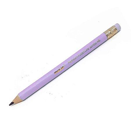 Lápis Premium Pastel Lilás HB Jumbo