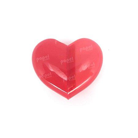 Apontador c/ Borracha Coração Vermelho