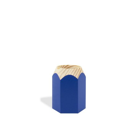 Porta Treco Lápis Azul