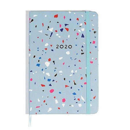 Agenda Planner 2020 Confete Azul